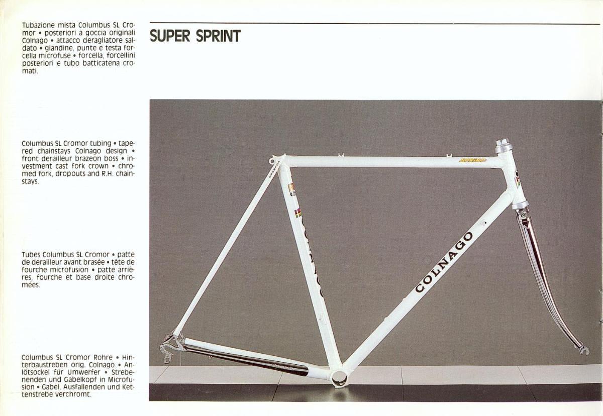 Colnago super frame dating 9