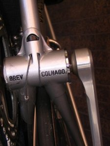 Colnago Bottom Bracket Detail underside
