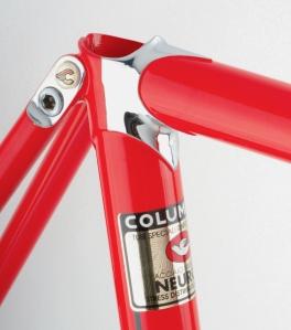 Supercorsa rosso ferrari seat tube