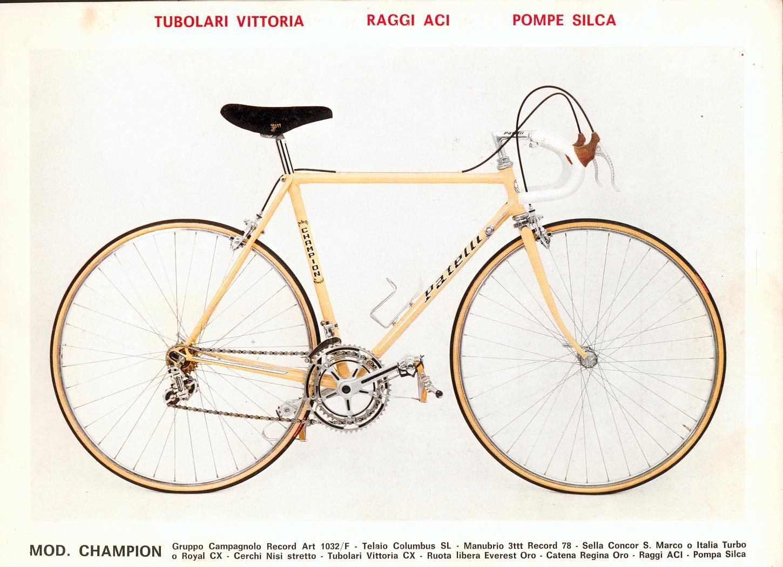 Vintage 1981 patelli bike catalog for Rampichino cinelli